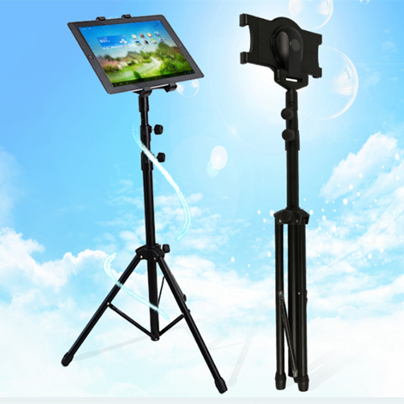 Adjustable Foldable Tripod Stand Holder For 7-10 Inch Tablet iPad 2 3 4 iPad Air 2 iPad Mini