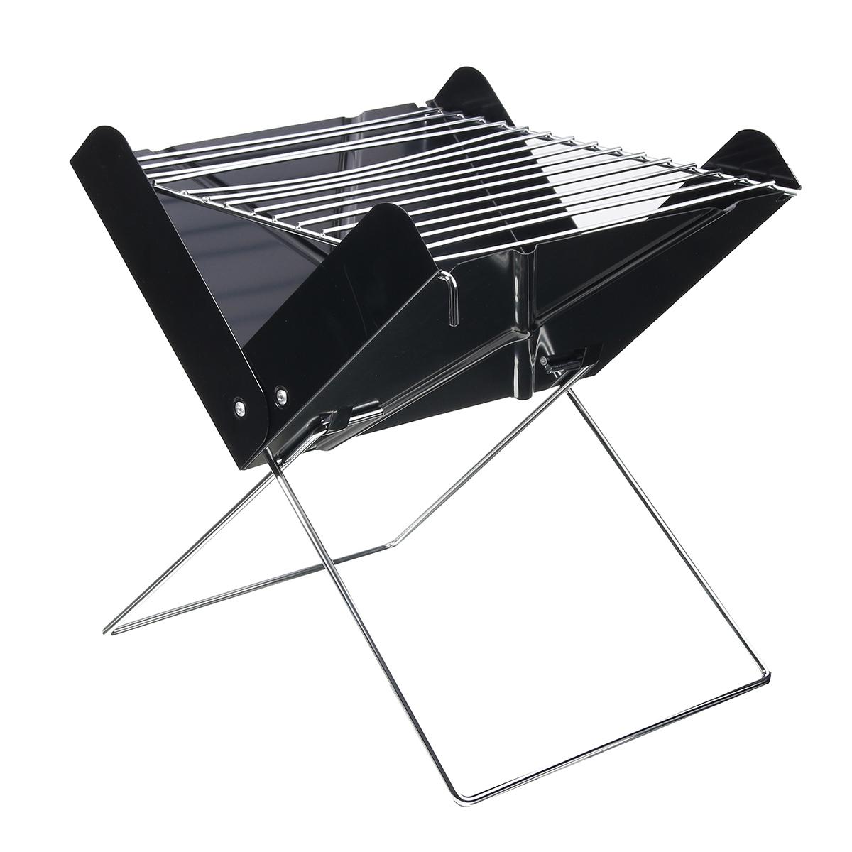 Outdoor Portable Folding BBQ Grill Barbecue Garden Camp