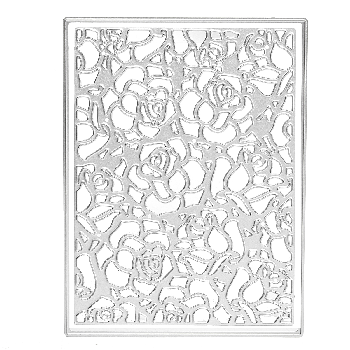 Rose Flower Steel Cutting Dies Scrapbooking Album Photo Paper Cards Craft