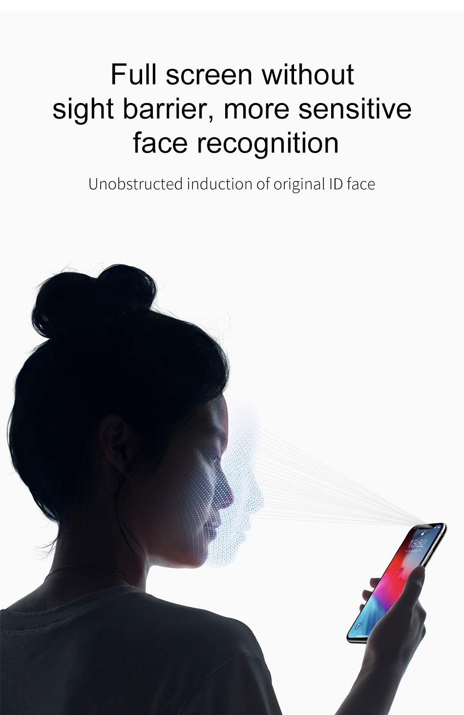 Baseus 0.3mm Full Glass Clear/Anti Blue Ray Light Scratch Resistant Tempered Glass Screen Protector For iPhone XS Max