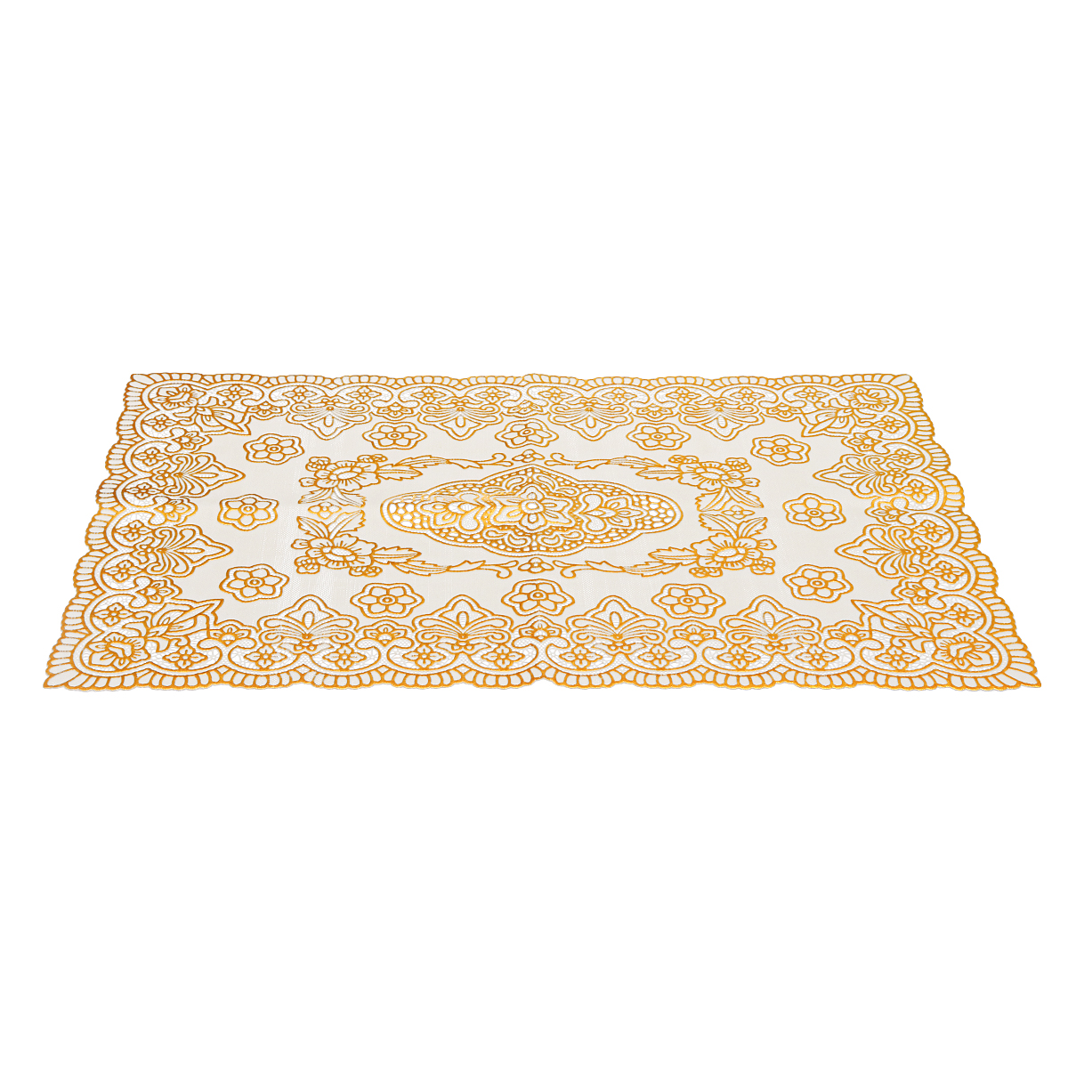 Disposable High Temperature Anti-hot Tablecloth Oval Coffee Table Pad Placemat Dinnerware