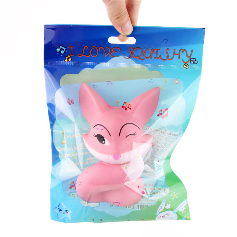 Long-Tailed Fox Squishy 11.5*6CM Soft Slow Rising With Packaging Collection Gift Toy