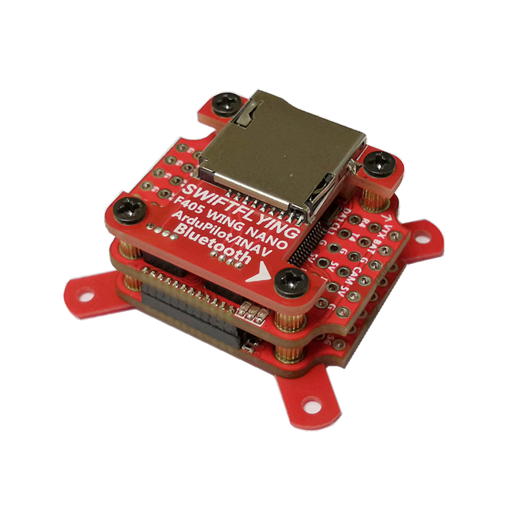 Racerstar F405 WING NANO 168MHz STM32F405 ArduPilot/INAV Super Bluetooth Flight Controller Support SpeedyBee & QGroundControl for RC Airplane FPV Racing Drone