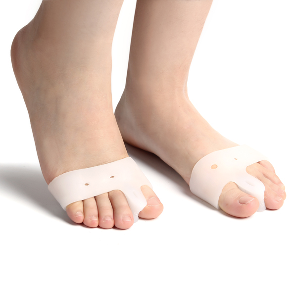 Silicone Squishies Squishy Gel Toe Straighteners Corrector Protectors Feet Pain Relieve Care