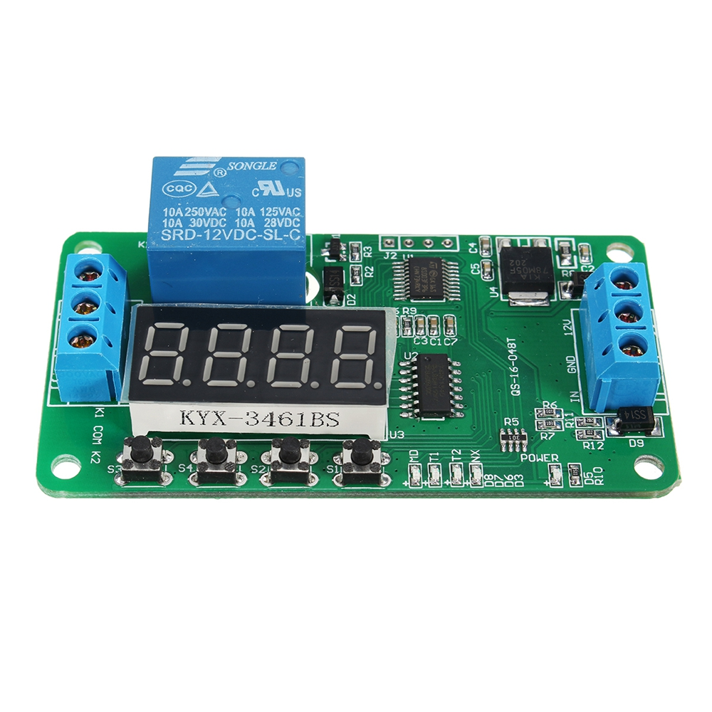 Delay For Sale Ioffer 3pcs Dc 12v Timer Relay Module Turn On Off 10pcs Plc Self Lock Multifunction Cy