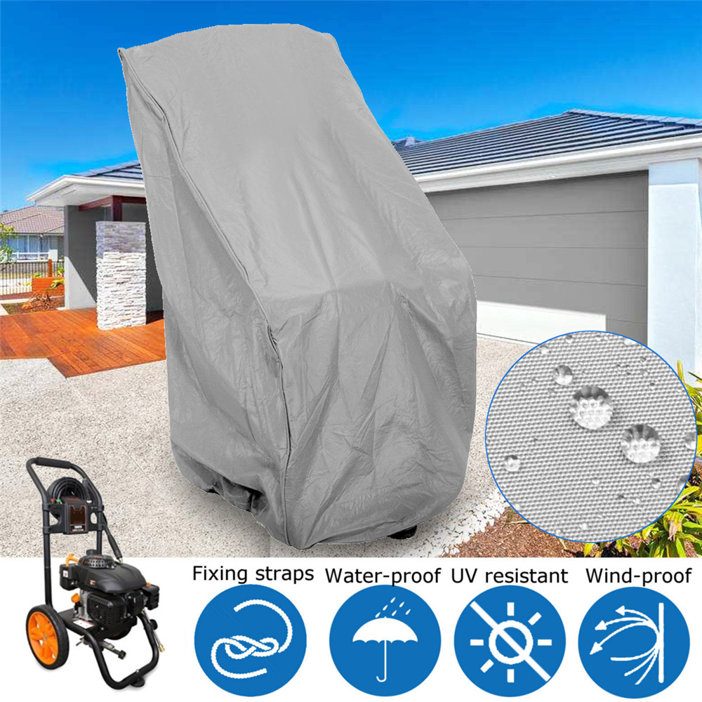 Polyester Fabric Grey WEN PW31C Universal Weatherproof Pressure Washer Cover