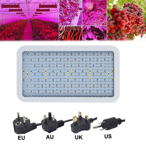 400W LED Full Spectrum Flower Plant Grow Light Indoor Veg Hydro Lamp