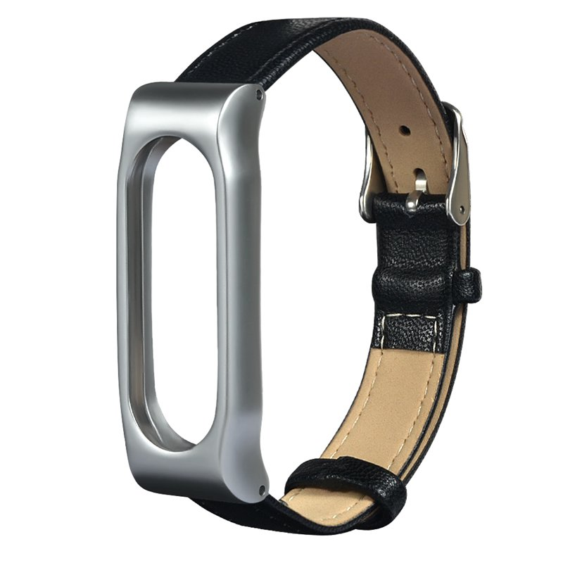 Replacement Magnetic Metal Shell Watch Strap For MIband2