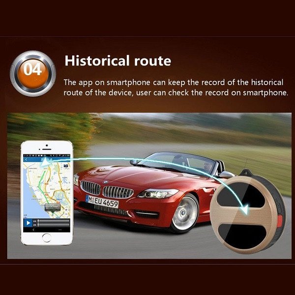 iMars™ T8 Mini GPS Tracker Locator Personal Google Map SOS GSM GPRS Tracker for Kids Car