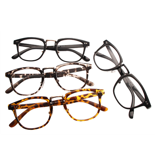 Men Women Vintage Clear Lens Eyewear Sexy Cat Eye Retro Transparent Computer Eyeglasseess