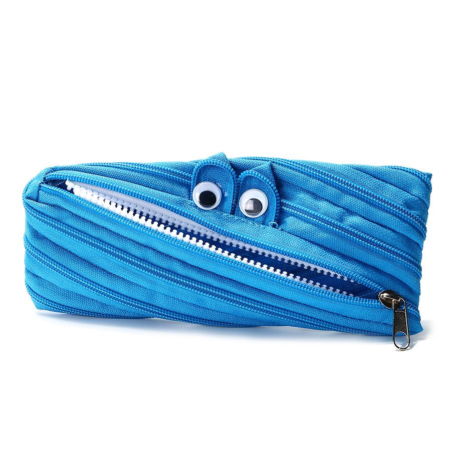 KCASA KC-CB01 7 Colors Creative Storage Bag Durable Funny Zipper Pencil Cosmtics Organizer