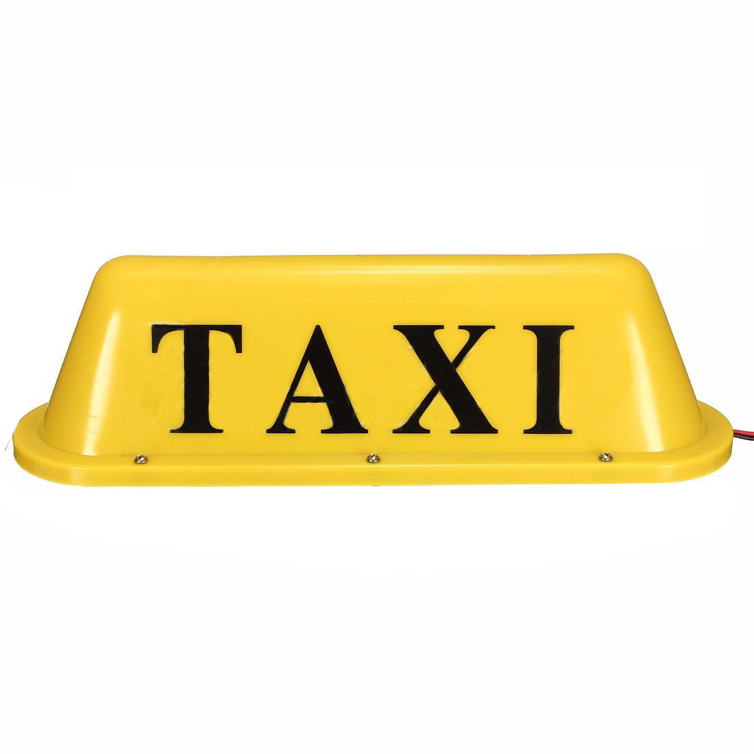 12V Cab Roof Top Sign Light Taxi Magnetic LED Lamp Waterproof 12V Yellow