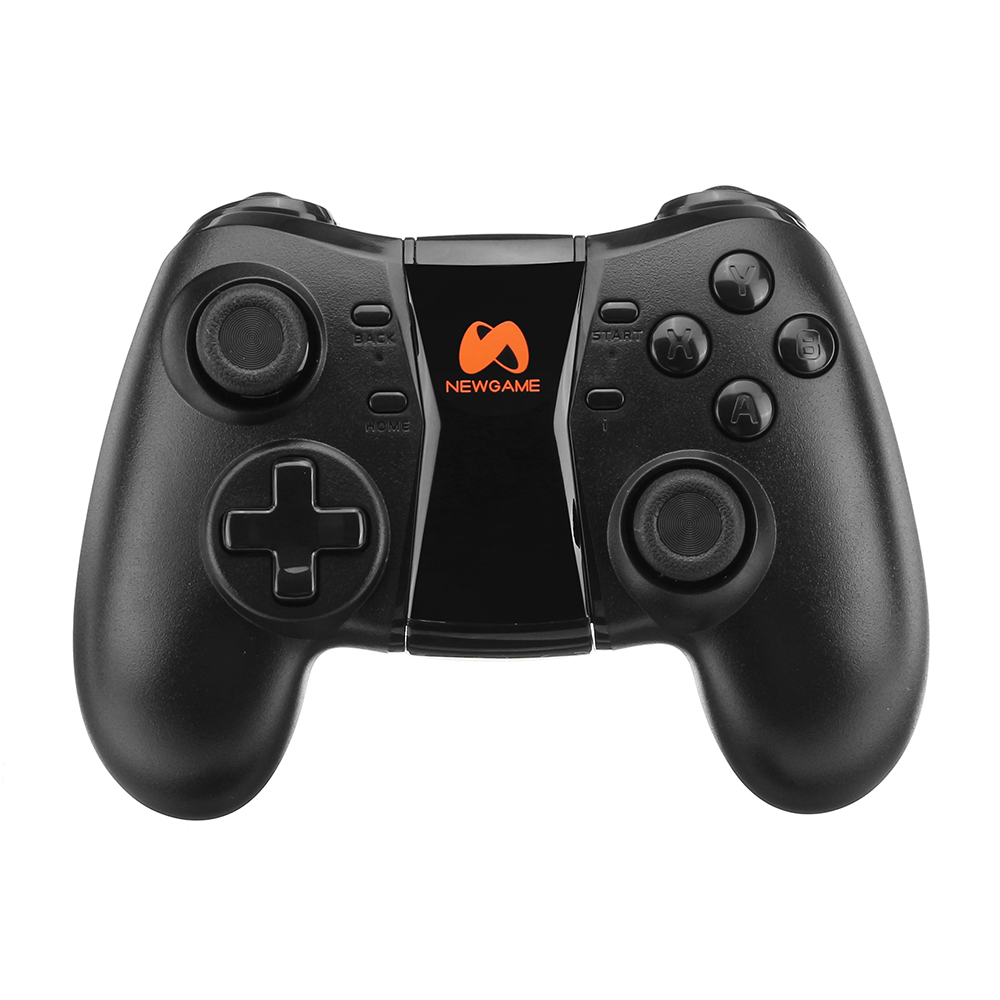 NEWGAME Q1 bluetooth 4.0 2.4G Wireless Vibration Gamepad with Phone Clip for Android IOS PC TV Box
