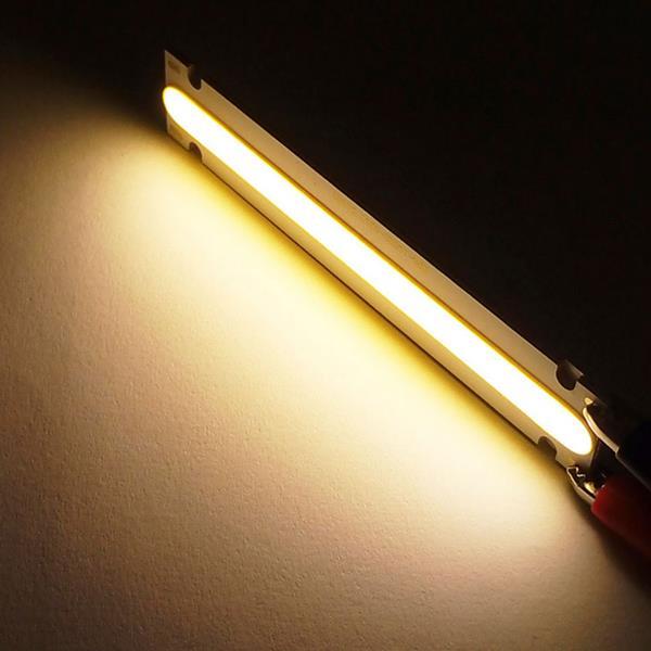 Ultra Bright DC6V 5W COB LED Bar Light Chip for DIY Floodlight 100x20mm