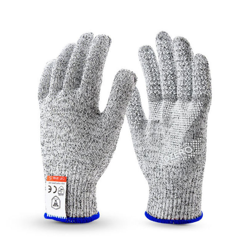 1 Pair Anti-cut Glove Cut Proof Stab Resistant Stainless Steel Wire Metal Mesh Kitchen Cut-Resistant Cut-Resistant Protective Wearable Anti-glass Scratches Wire Butcher Working Safety Gloves