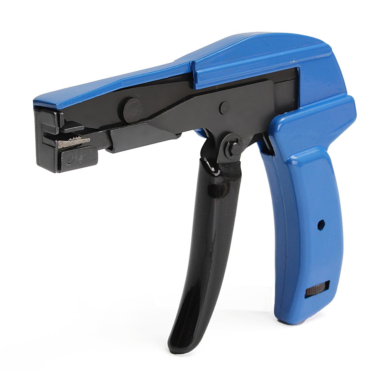 Aluminium Alloy Blue Nylon Cable Tie Tool Installation Tensioning Fastener Tool