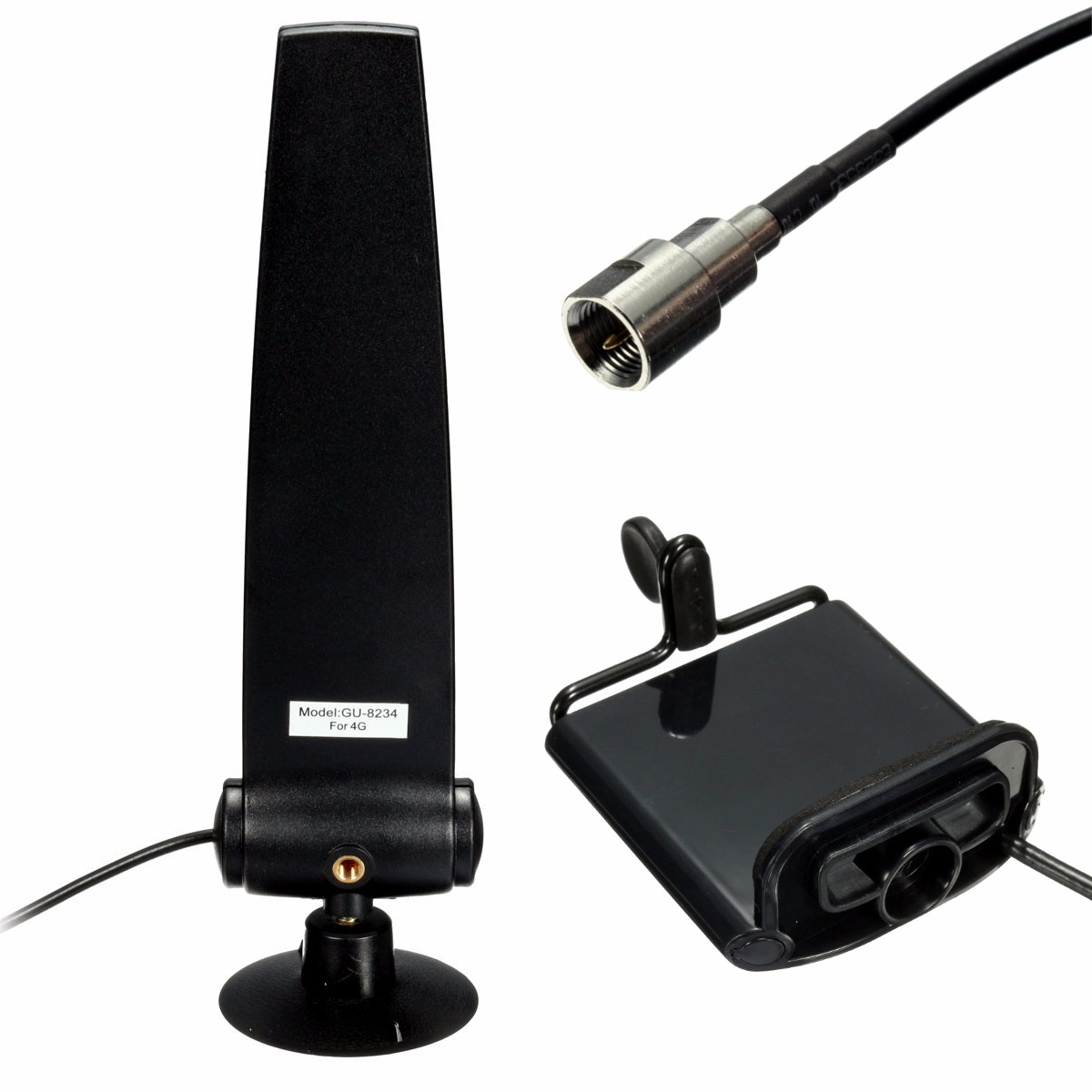 GSM/CDMA/850-1900 MHz Cell Phone Signal Booster Amplifier Antenna 9dBi with Holder
