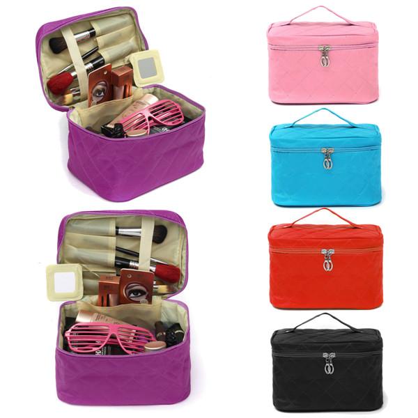 Ladies Cosmetic Bag Travel Makeup Tool Organizer Nail P
