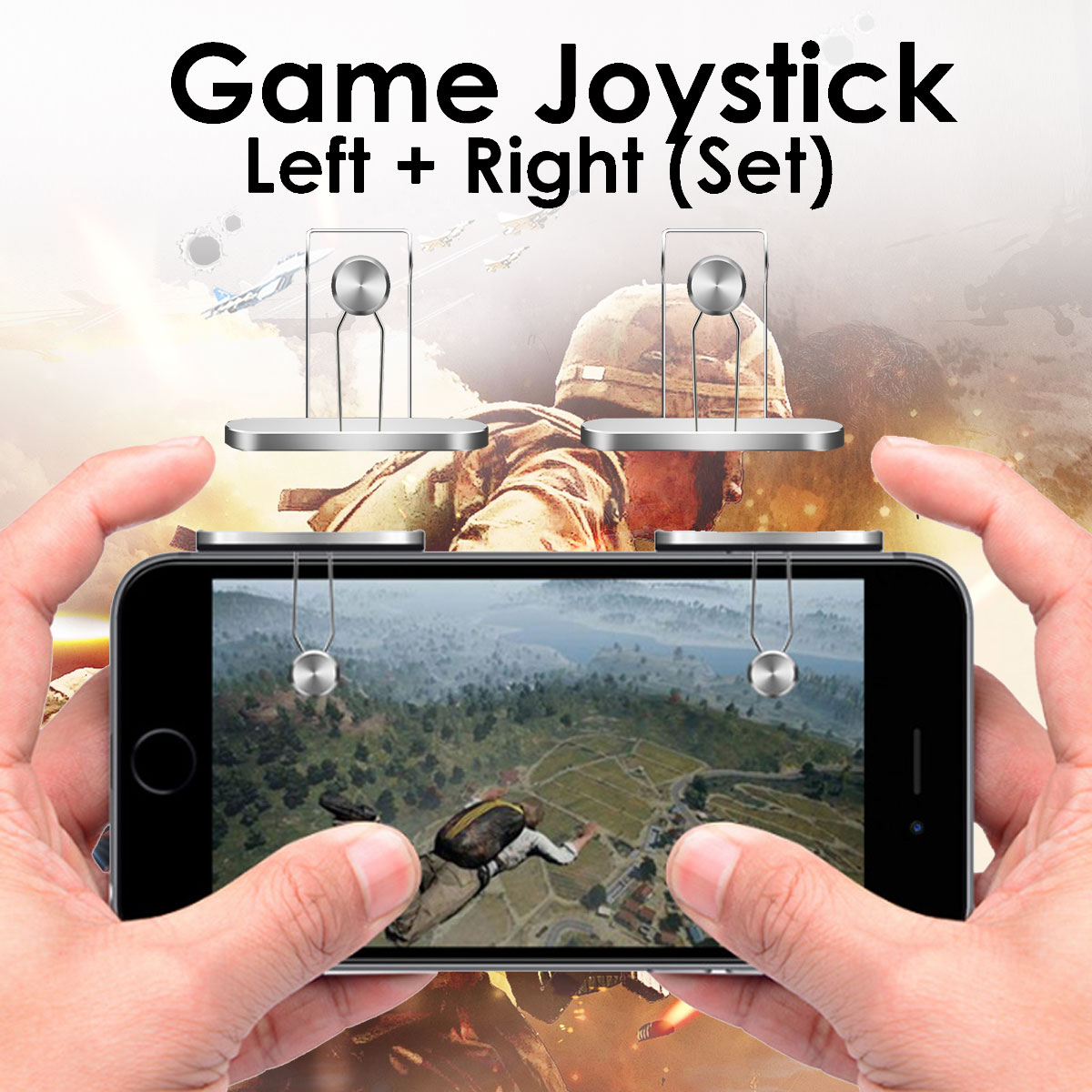 Bakeey Gaming Trigger Button Handle for L1R1 Shooter Gamepad Controller PUBG iPad iPhone