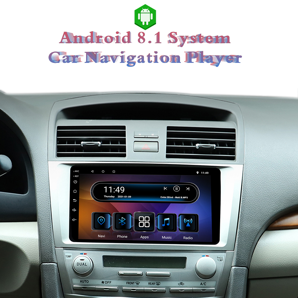 Ezonetronics Android 8.1 Car Radio Stereo 9 Inch Capacitive Touch Screen Car GPS Navigation For Toyota Camry 2008 - 2011