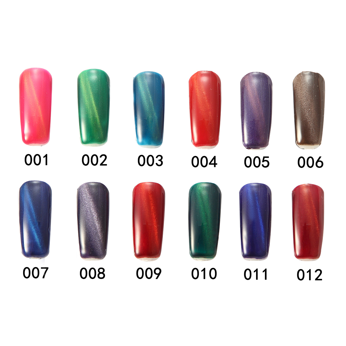 11 Colors Cat's Eyes Magnetic Magic Cat Dreamlike Nail Art UV Gel Polish 15ml