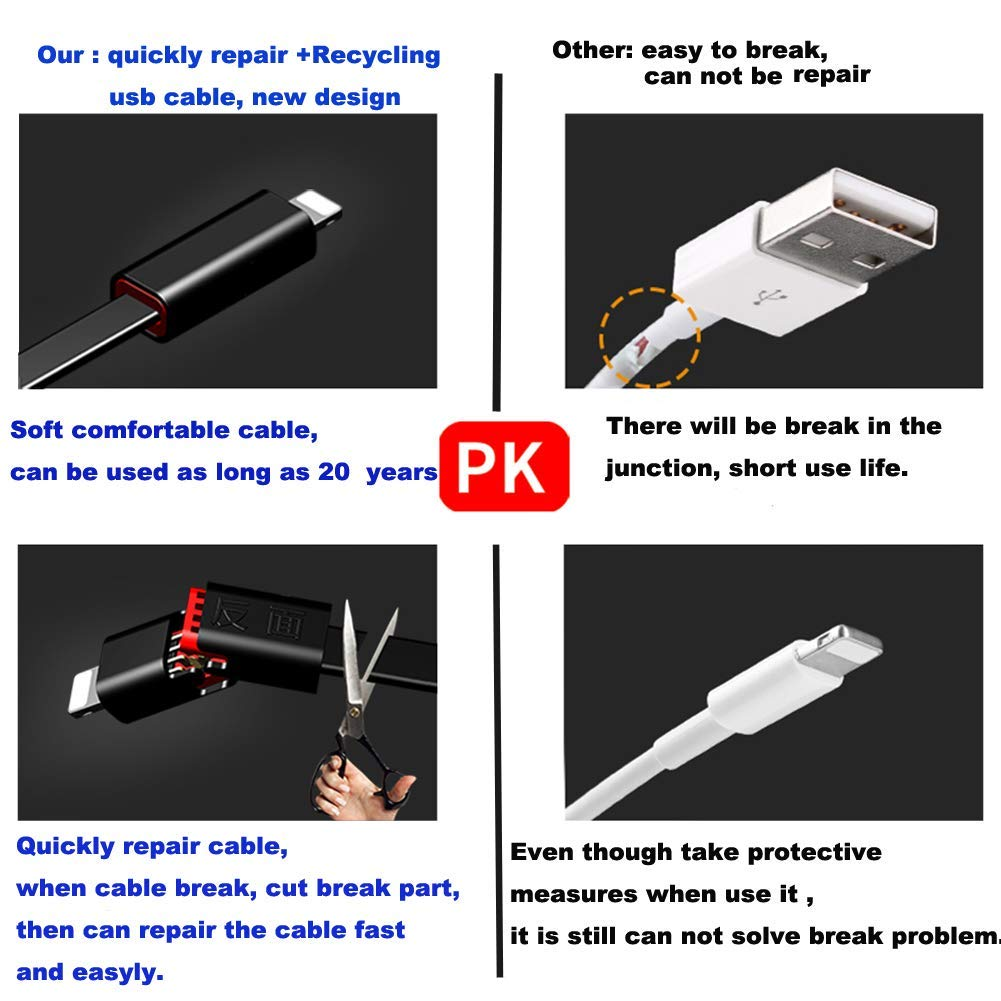 Bakeey Quick Repair Recycling USB Type-C Repairable Data Cable for Samsung S8 S9 Note Xiaomi Huawei