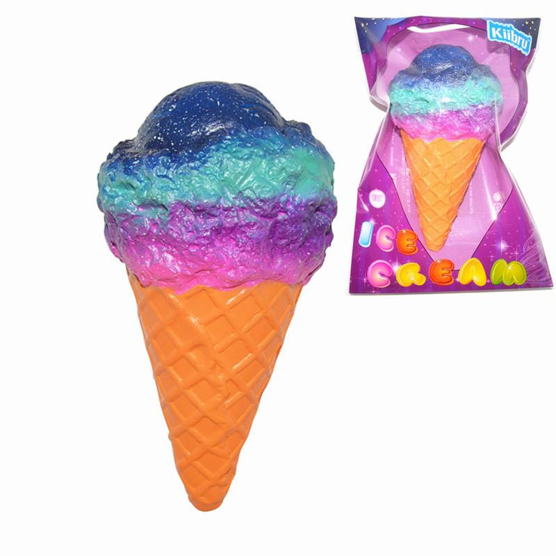 Kiibru Squishy Ice Cream Galaxy Color Licensed Slow Ris