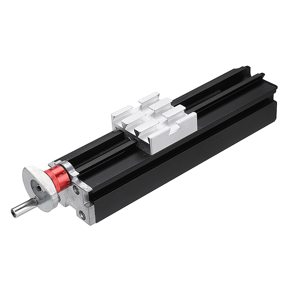 200mm Metal Cross Slide Longitudinal Slide Block Z010M For Lathe Feeding Relieving Axis X/Y/Z