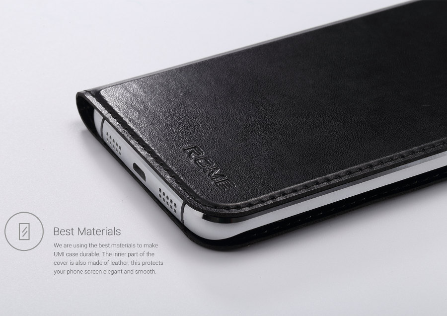 Original Flip Leather Protective Case Cover For UMI Rome Rome X