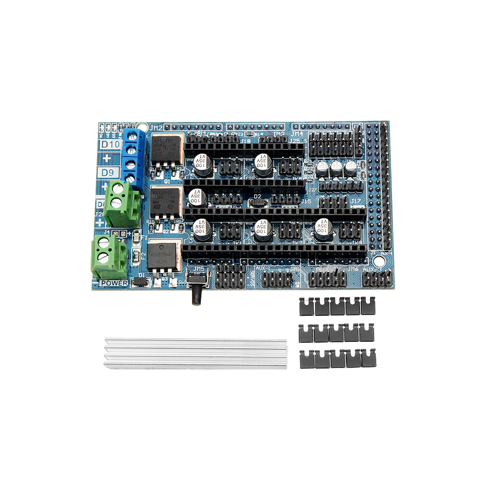 Upgrade Ramps 1.6 Base On Ramps 1.5 4-layer Control Panel Mainboard Expansion Board For 3D Printer Parts