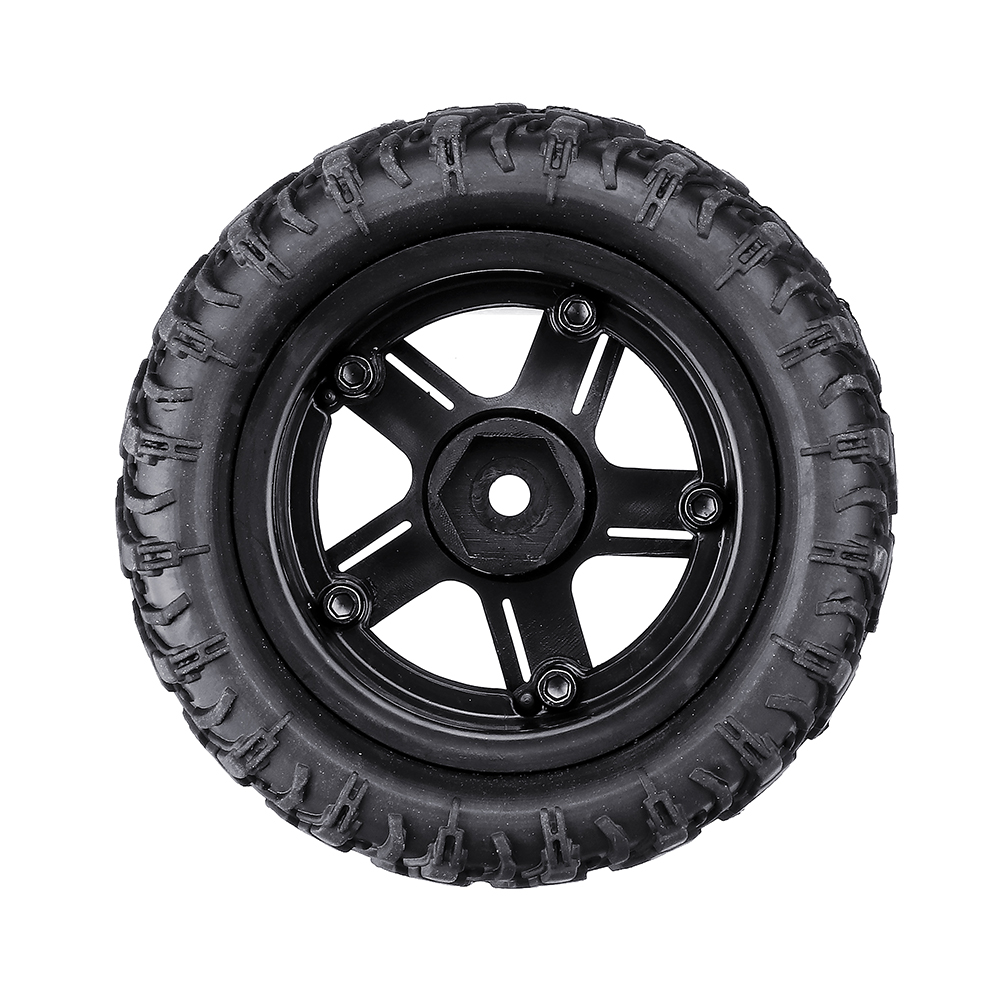 Remo P6973 Rubber RC Car Tires For 1621 1625 1631 1635 1651 1655 RC Vehicle Models - Photo: 7