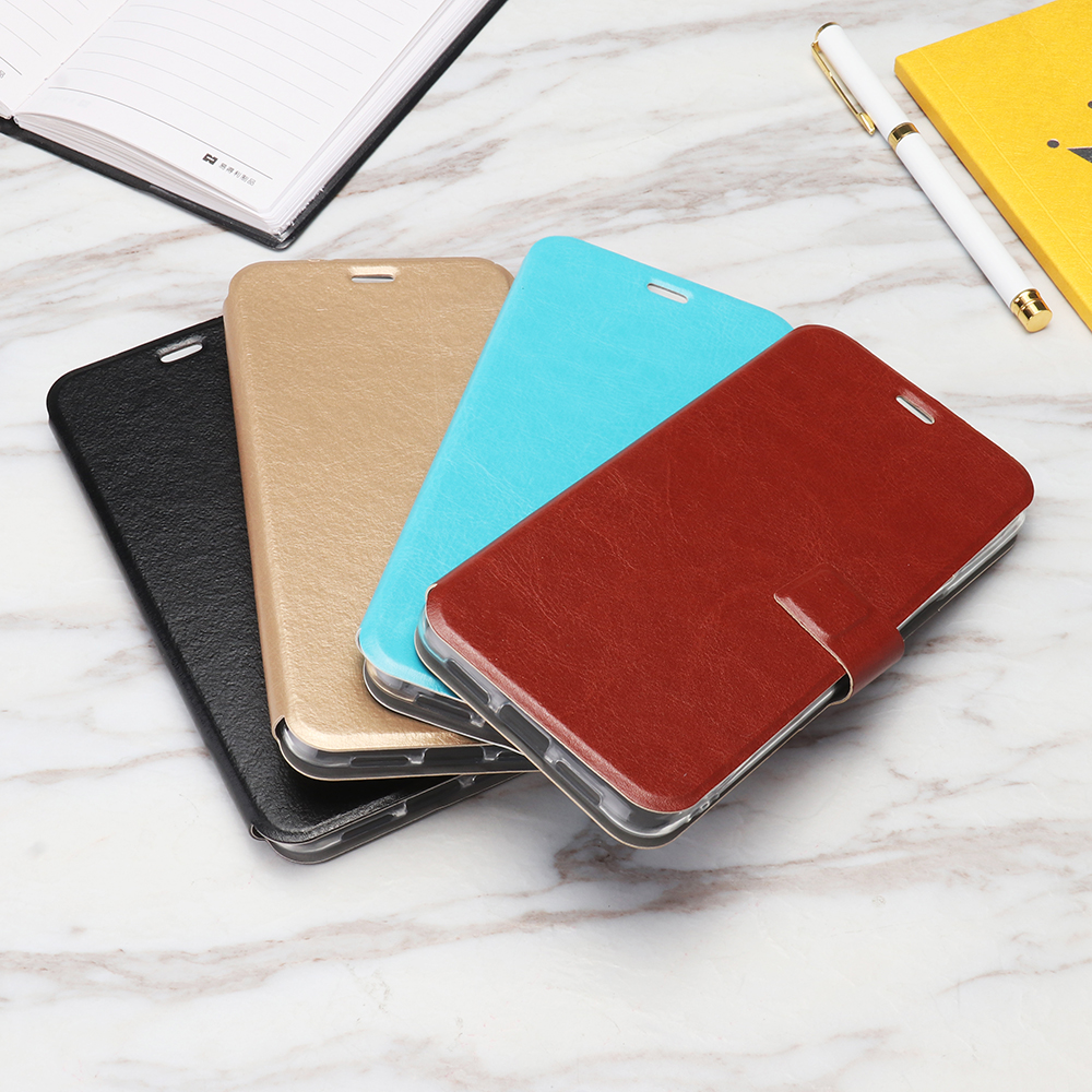 Bakeey™ Magnetic Adsorption Shockproof PU Leather + Soft TPU Full Cover Protective Case for GOME U7