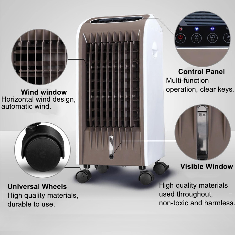 FSL-120HR 220V 75W Evaporative Air Cooler Portable Fan Conditioner Cooling Remote Conditioner