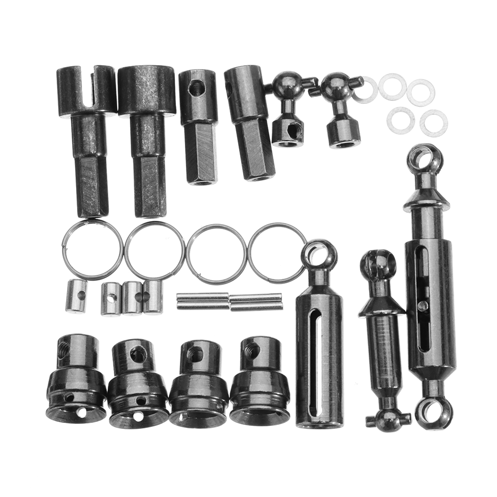 WPL 6X6 All OP Accessory For 1/16 WPL B16 Kit 1/16 6WD RC Car Parts