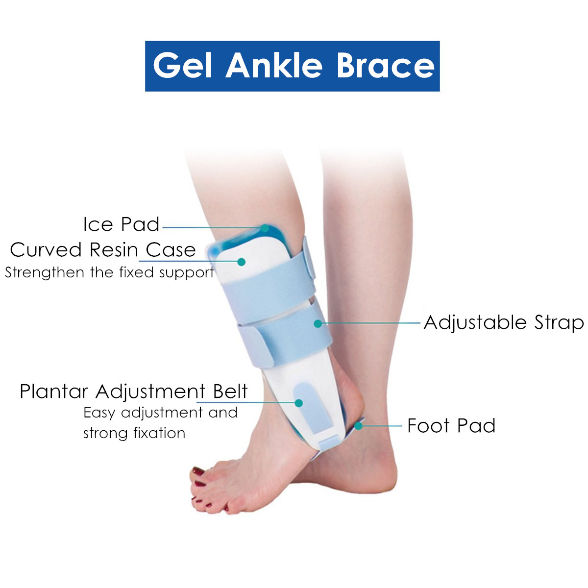 Support For Pain Relief Compression Wrap