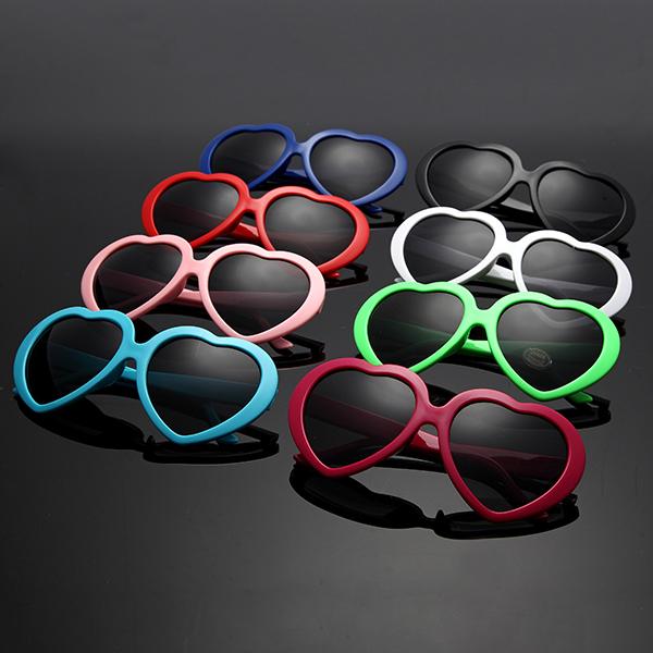 Retro Funny Love Heart Shape Anti-UVA And UVB Sunglasses