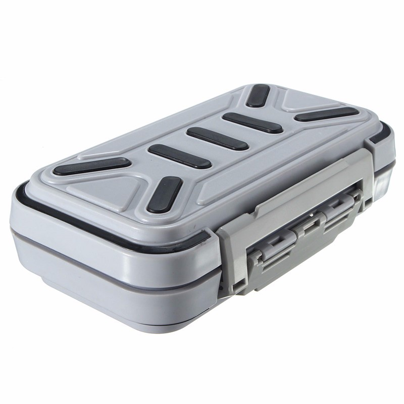 Waterproof Compartments Fly Fishing Lures Case Hooks Box Fishing Accessories