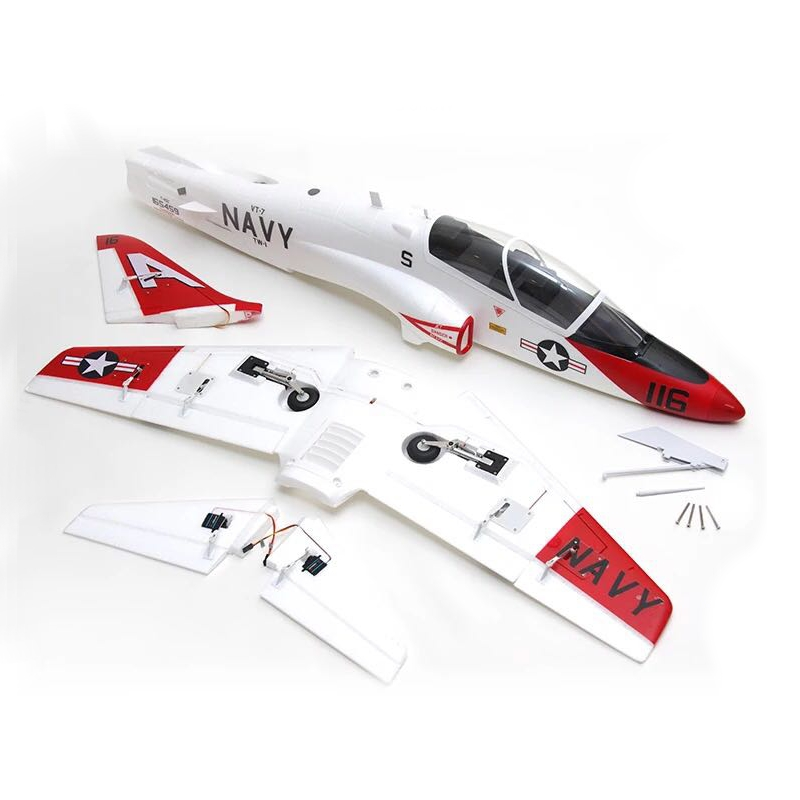 QT-MODEL T45 V2 EPO 960mm Wingspan RC Aircraft Scale Zoom Goshawk Carrier Fixed Wing KIT ONLY Support 70MM Ducted Fan - Photo: 9