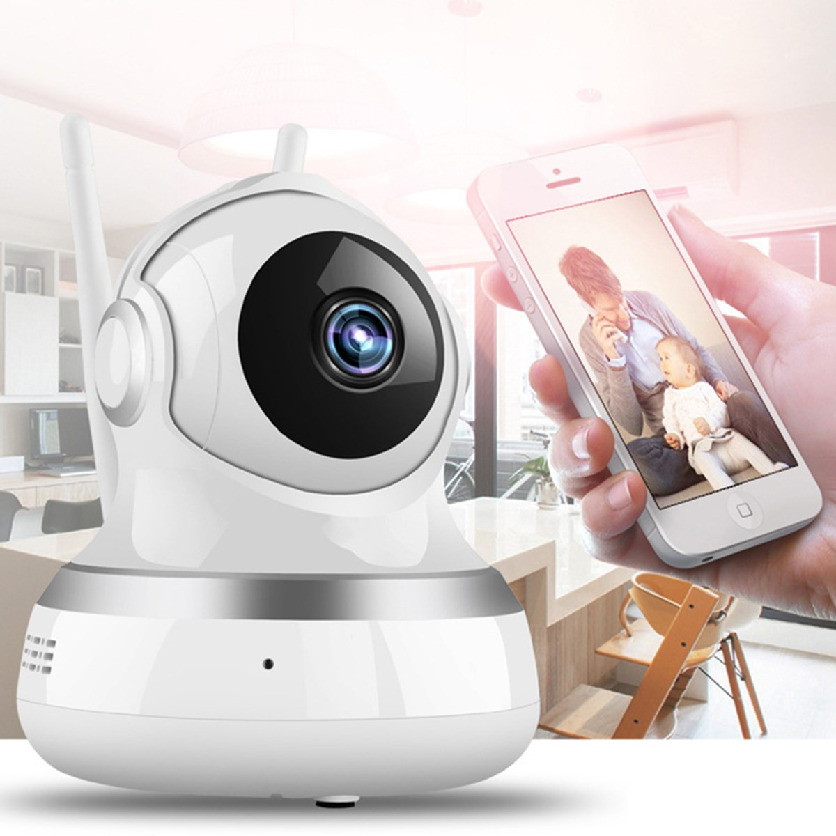 Wireless WIFI HD 1080P IP Camera Home Security Smart Audio CCTV Camera Pan&Tilt Night Vision