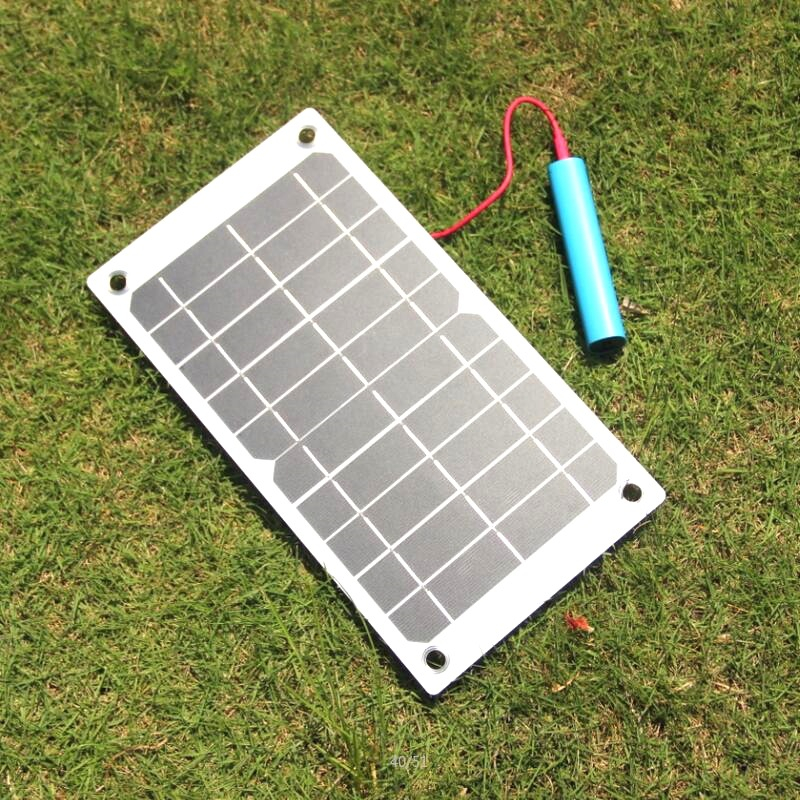 7.5W 5V Solar Panel Monocrystalline Solar Cells High Quality Charger Board PV Module With USB Port