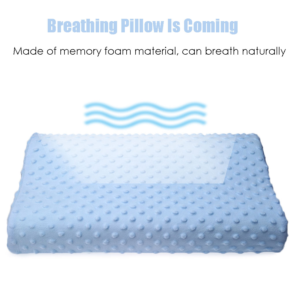 Memory Foam Pillow 3 Colors Cervical Health Care Orthopedic Pillow Latex Neck Pillow Fiber Slow Soft Pillow