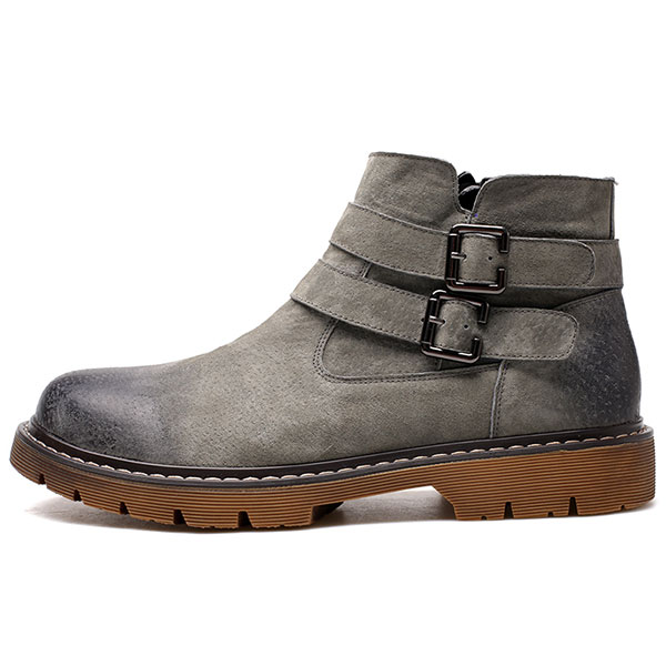 Men Casual Comfy Suede Ankle Boots