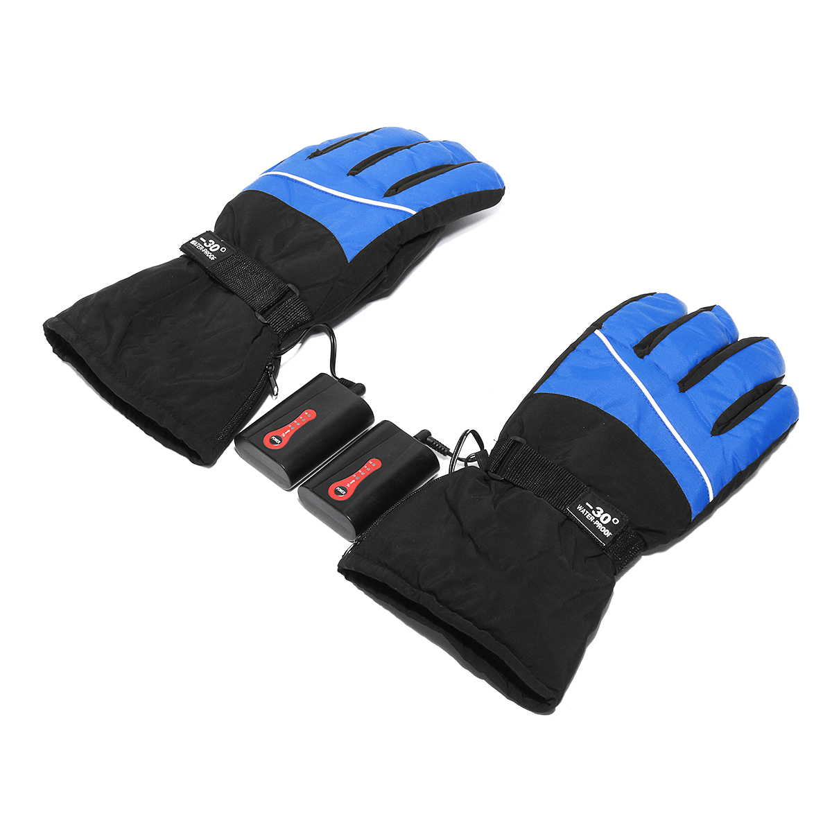 5000mah Electric Heated Gloves Motorcycle Winter Warmer Outdoor Skiing