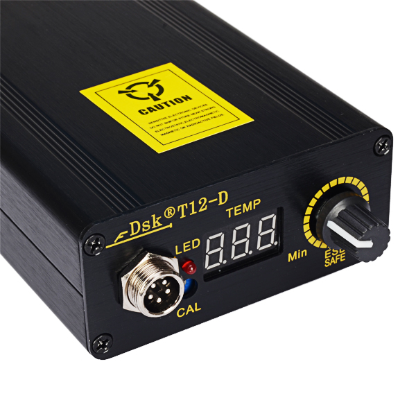 DSK T12-D Digital Soldering Station Kit Soldering Iron Station Temperature Controller