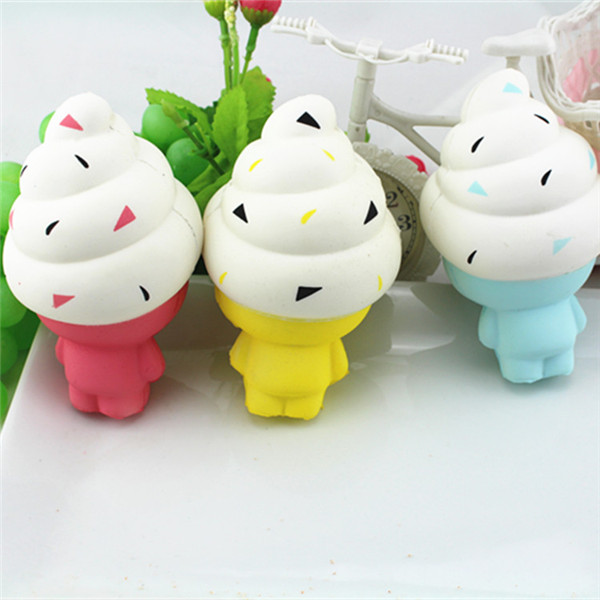 Squishy Ice Cream Doll 13cm Soft Slow Rising Kawaii Cute Collection Gift Decor Toy
