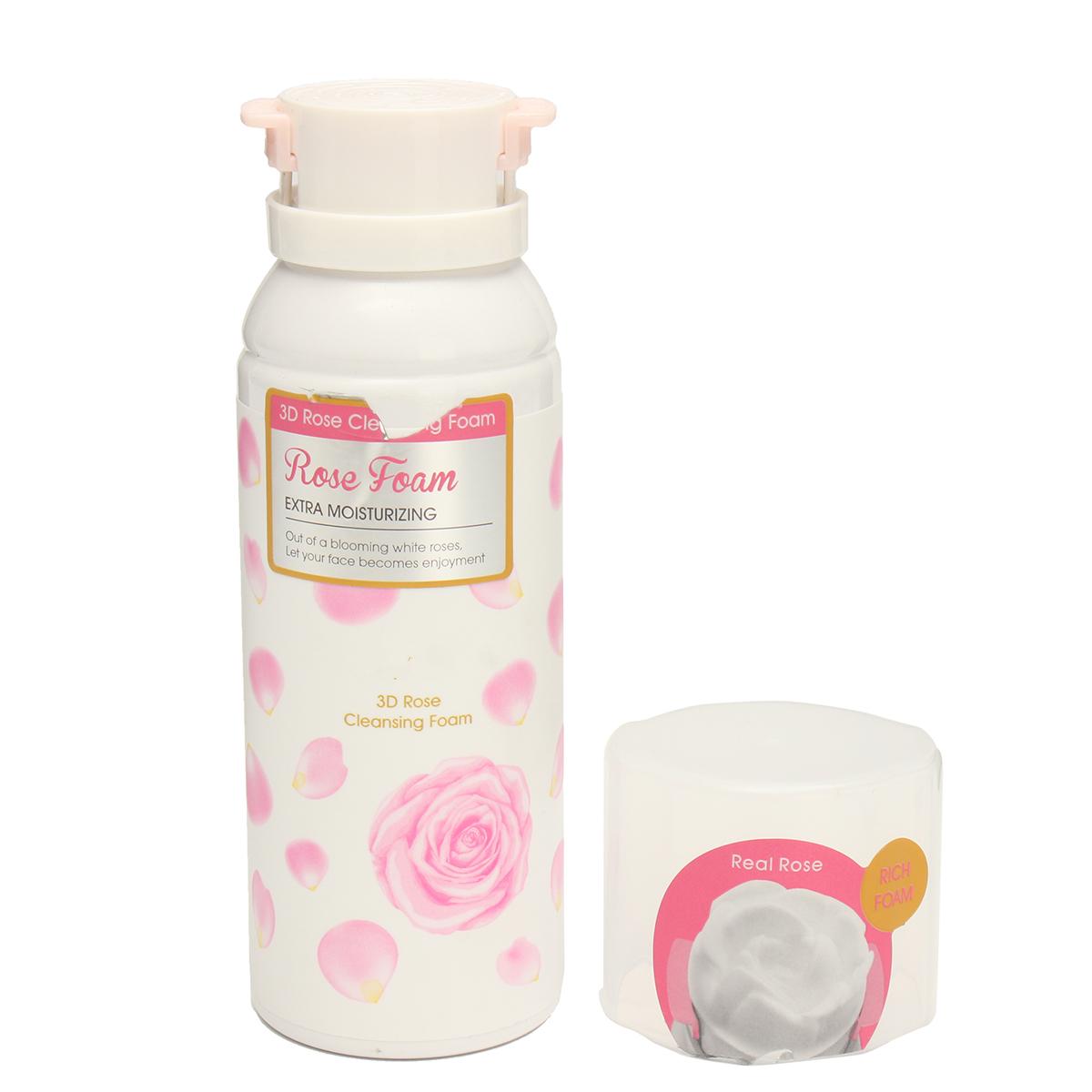 3D Rose Face Wash Foaming Cleanser Sealed