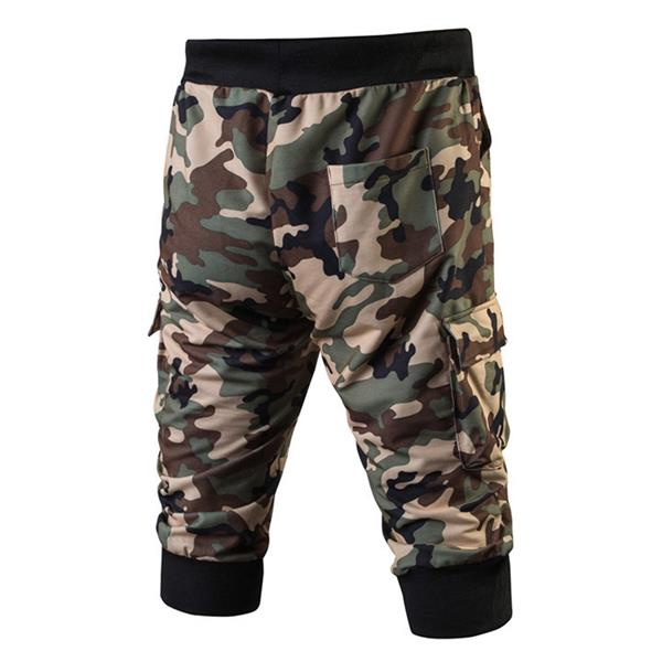 Summer Men's Camouflage Casual Shorts