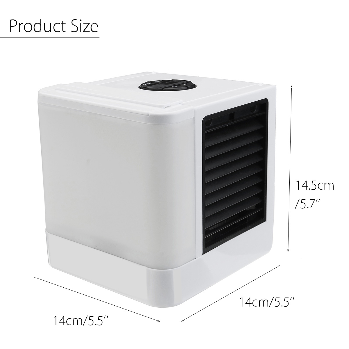 3 In 1 Evaporative Air Cooler Fan LED Air Purifier Conditioner Humidifier Cooling Fan With USB Cable