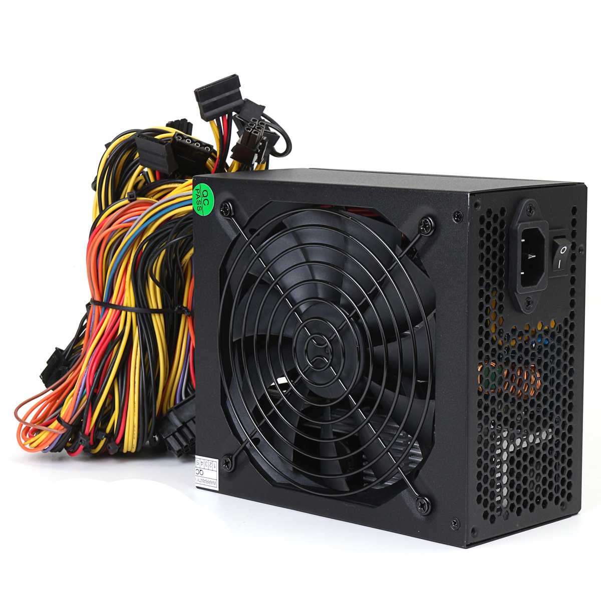 1600W Miner Mining Power Supply For 6 GPU Eth Rig Ethereum Coin Mining Miner Machine