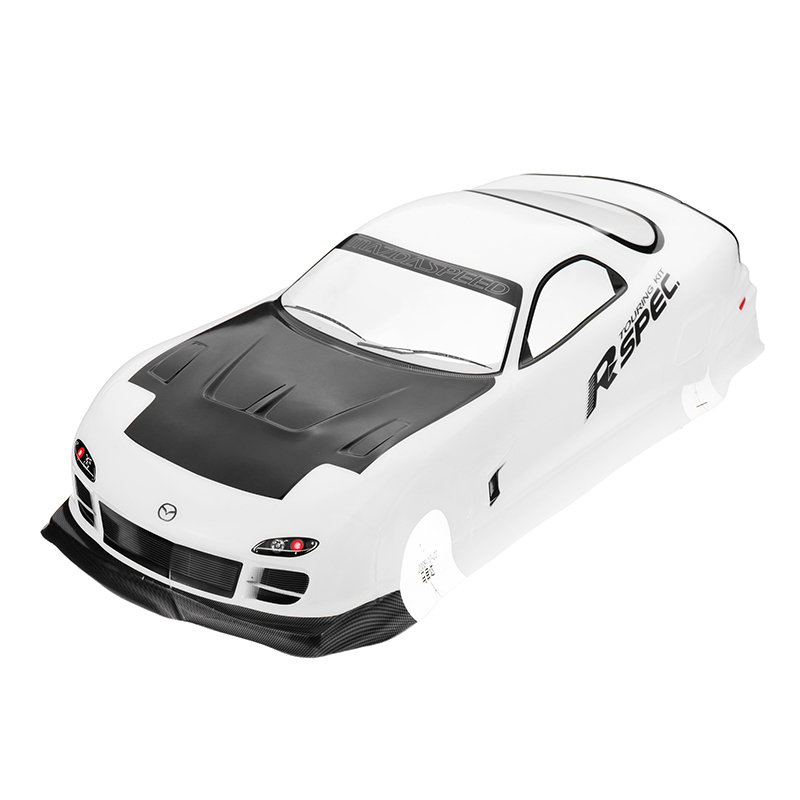 210X460MM Tamiya Body Shell Mazda RX-7 EP 016# For 1/10 On Road Drift RC Car Parts